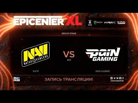 Na'Vi vs paiN Gaming, EPICENTER XL, game 1 [Maelstorm, Jam]
