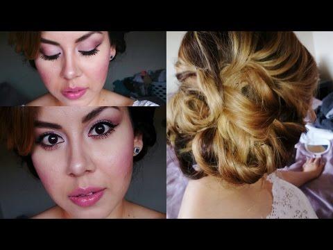Look Novia Sencillo y Elegante- Maquillaje/Peinado/Outfit!