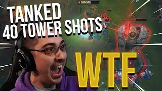 TANKED 40 TOWER SHOTS!! UNKILLABLE UDYR - Trick2G