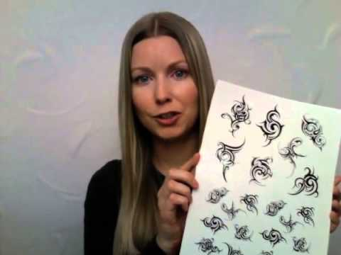 How To Make Your Own Temporary Tattoos (Laser Printers)