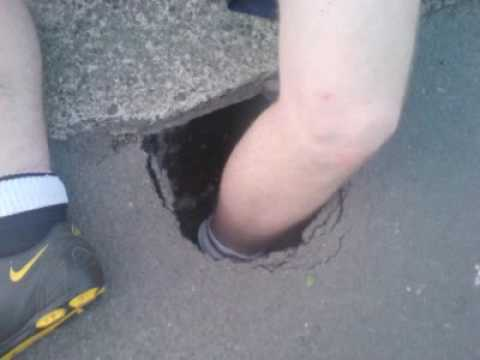 Stuck in tar