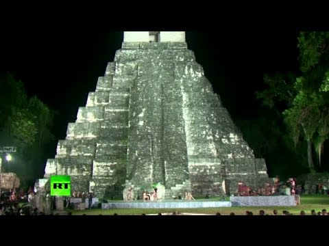 Apocalypse or new era? Mayan ceremony at 'Star Wars' temple in Guatemala