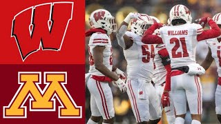 #12 Wisconsin vs #8 Minnesota Highlights | NCAAF Week 14 | College Football Highlights