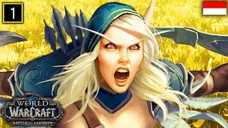 MMORPG Paling Rame Sedunia ??? | World of Warcraft: Battle For Azeroth - Indonesia #1