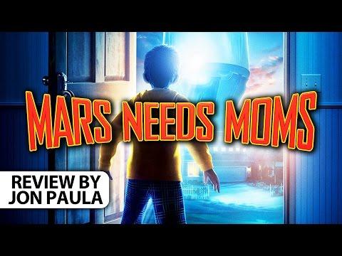 Mars Needs Moms -- Movie Review // #JPMN #BoxOfficeBomb