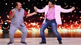 Dancing Uncle Sanjeev Shrivastva met Govinda on the sets of Dance Deewane