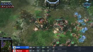 Elazer vs uThermal ZvT – Group A – WCS Challenger Europe Season 3