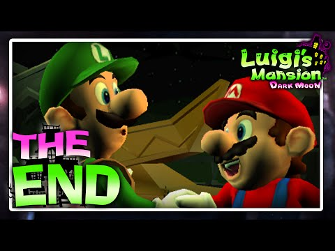 Luigi's Mansion: Dark Moon - Finale - King Boo's Illusions