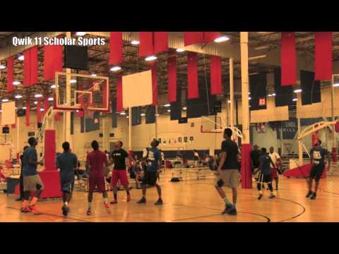 Ballislife 2013 All Star Run Pt 2 : Aquille Carr, Deonte Burton Christian Wood,Julian Jacobs