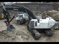 See it RC - Powerful Excavator Thumb Loading HUGE Boulders. Fumotec