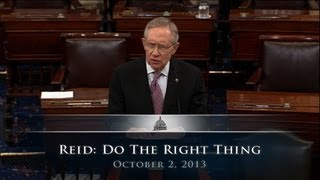 Reid: Do The Right Thing