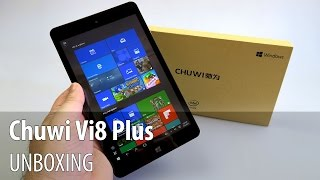 Chuwi Vi8 Plus Unboxing (Windows 10 Tablet priced below $100) - Tablet-News.com