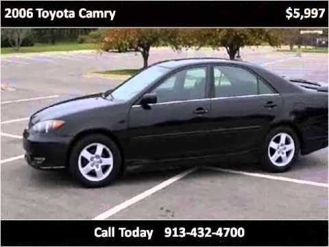 2006 toyota camry used cars kansas city ks youtube. Black Bedroom Furniture Sets. Home Design Ideas