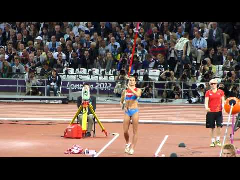 Yelena Isinbayeva - Women's Pole Vault, 2012 London Olympics, Olympic Stadium, 6 August 2012