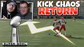 TYREEK HILL VS MECOLE HARDMAN KICK RETURN CHAOS SUPERBOWL SPECIAL!!