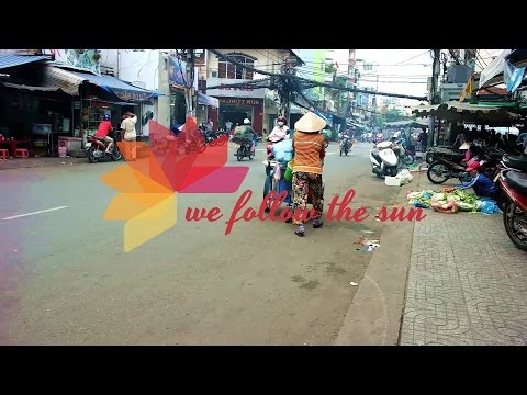 Ho Chi Minh City - Vietnam (Backpacking through Vietnam) GoPro