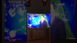 Bay News 9 weatherman loses voice LIVE