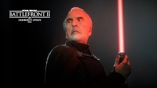 Star Wars Battlefront II: Count Dooku – Community Update