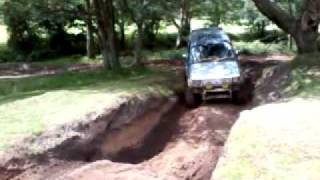 Broxhead off roading Mitsubishi Pajero Hill Climb - Bordon - TV4x4