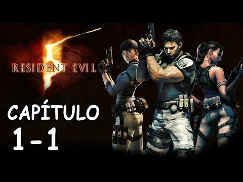 RESIDENT EVIL 5 / PROFESIONAL / NO DAMAGE / CAPÍTULO 1-1 / Punto de Control Civil / Rango S