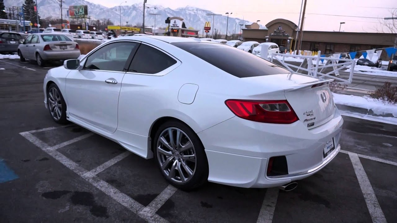 Honda Accord 2014 Coupe V6 >> Honda Accord HFP EA001899 - YouTube