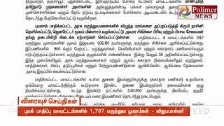புயல் பாதிப்பு மாவட்டங்களில் 1,767 மருத்துவ முகாம்கள் - அமைச்சர் விஜயபாஸ்கர்