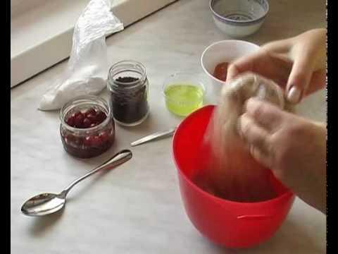Mozart golyó desszert készítése