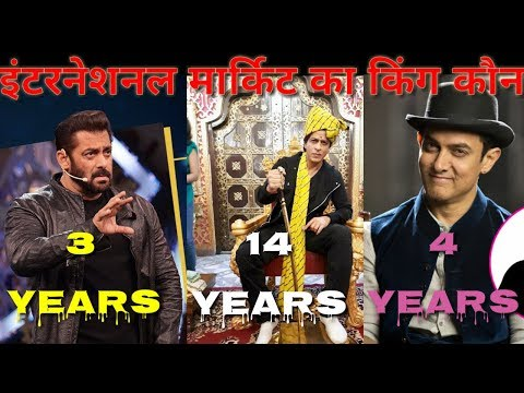 Highest Yearwise Overseas Domination by Bollywood Actors Still Shahrukh Khan Top thumbnail