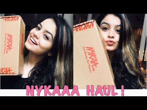 LATEST NYKAA HAUL | JANUARY NYKAA HAUL | MRIDU MAGOTRA