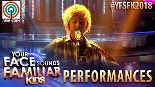 Your Face Sounds Familiar Kids 2018: Noel Comia Jr. as Ed Sheeran | Perfect