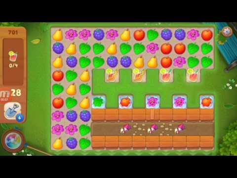 Gardenscapes - New Acres Level 701 Gameplay. Must watch!