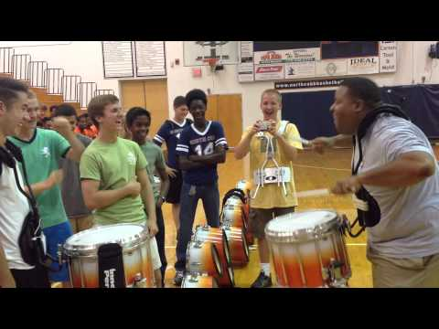 North Cobb High School drummer challenges FOX 5 Photojournalist