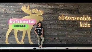 Early School Clothes Shopping 2018  6th grade Clothing Haul *Try On*