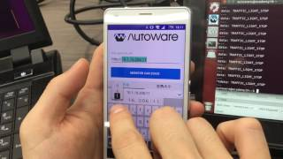 Autoware Demo with Android