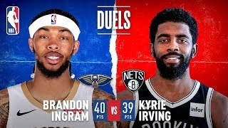 Ingram & Kyrie FACE OFF