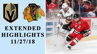 Vegas Golden Knights set franchise record with 8 goals in a game I EXTENDED HIGHLIGHTS I NBC Sports