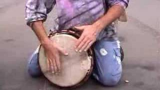 How to: Play an African Drum Wooden Basic Beats