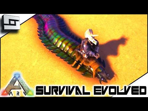 ARK: Survival Evolved - TAMING AN ARTHROPLUERA! S4E33 ( The Center Map Gameplay )