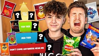 BROTHER'S TASTE AND RANK BRITAIN'S FAVOURITE CRISPS *NEW*
