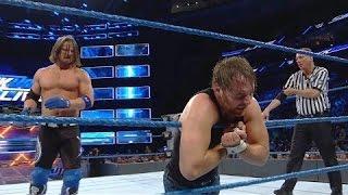 full match John Cena & Dean Ambrose vs. AJ Styles & The Miz: SmackDown LIVE, Sept. 13, 2016