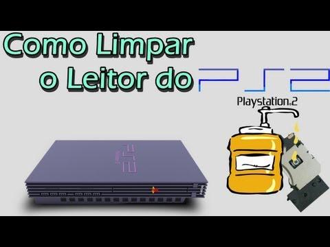 Como Limpar o Canhão (Leitor) do Playstation 2