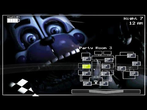 Sister Location in FNAF 2 Mod (Exclude Jumpscare)