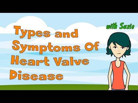 Types and Symptoms Of Heart Valve Disease
