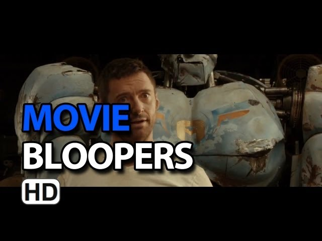 Real Steel (2011) Bloopers Outtakes Gag Reel