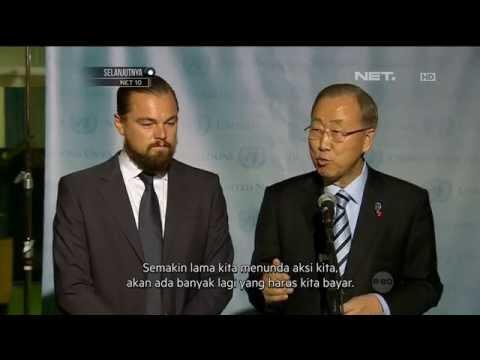 Leonardo Dicaprio menjadi Duta Pemanasan Global