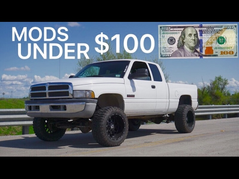 3 CUMMINS UPGRADES UNDER $100!
