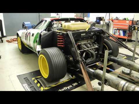 Lancia Stratos Group IV Replica - Dyno Run.