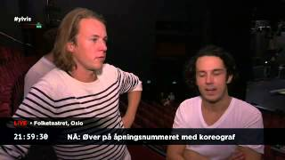 Ylvis Video - 24 hours with Ylvis 3. Hours 22:12 - 21:51