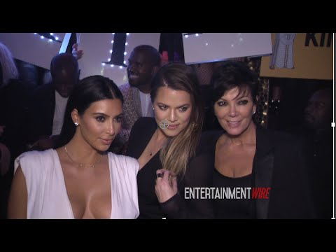 Kim Kardashian interviewed at her 34th birthday party, talks working on '2 Broke Girls'
