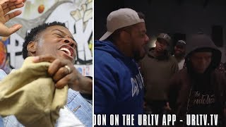 CHARLIE CLIPS Puts The KID JULIAN On TIMEOUT!!! vs JC!! SMACK #URLTVAPP CLASSIC BATTLE! REACTIONS